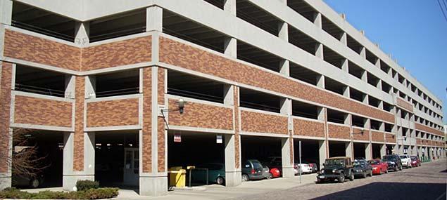 HSBC Parking Ramp