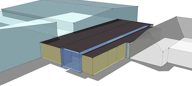 Hyde Park Ice Pavilion – Concept