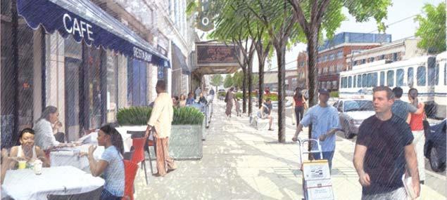 Main St. Revitalization – 600 Block