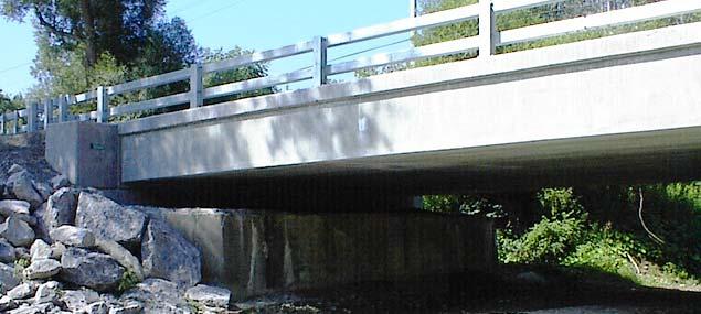 New Oregon Road Bridge
