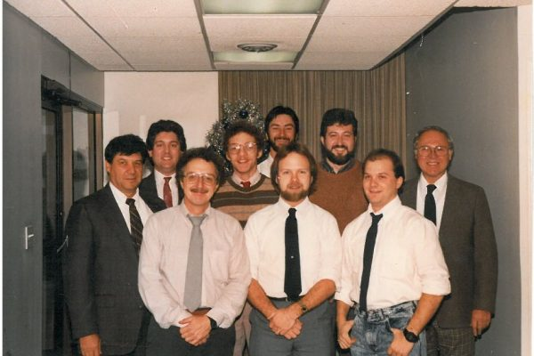old office photo 1988