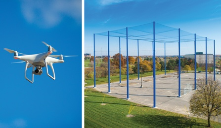 DiDonato Provides Design Services for UB Outdoor Drone Facility